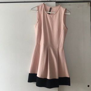 Pink short dress